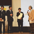 「Change Maker Awards」第1回大会本選/銅賞 札幌静修高等学校「積極性を伝える方法-How to broaden our positive mind-」(上村優作さん・高谷澪旺さん・出口晴大さん)