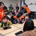 Yahoo!きっず「iPad で日本を元気にする絵をかこう!」