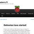 ラズベリーパイ、Webサイト