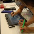 【国語】デジタル教科書と紙のノートに記入