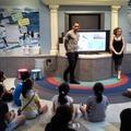 【パジュ英語村】海の生物と環境問題について話し合う子どもたち
