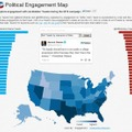 「Political Engagement Map」