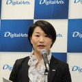 デジタルアーツ 経営企画室 広報・コーポレートマーケティング課 吉田明子氏