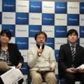 クロストークセッション。向かって左から田村節子教授、日本インターネット協会 代表 小寺信良氏、デジタルアーツ 経営企画室 工藤陽介氏