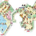 上野動物園ほっとポイント地図(イメージ)