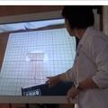 電子黒板を使った授業