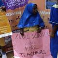 世界一大きな授業を受ける子どもたち(ナイジェリア)