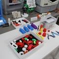 3Dプリンタの出力サンプルと仕上げの工具