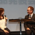 坂下千里子さんと松田教授のトークセッションも