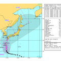 Joint Typhoon Warning Centerの台風19号情報