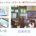 1人1台というと、自習教材のように見られがちだが、目指すところはデジタルとアナログの自然な協働