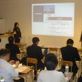 データ分析に関する中学生向け授業プログラムの発表会