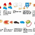 全10種類のおもちゃ