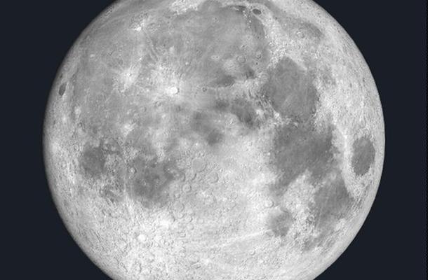 2015年9月27日東京における「中秋の名月」の見え方 (c) アストロアーツ