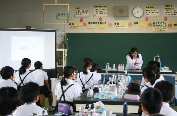 授業のようす(第4回 香川県高松市牟礼南小学校)