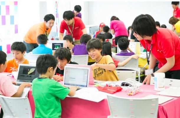 Tech Kids Schoolのようす