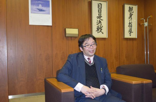 インタビューに応えるサピックス小学部 教育情報センター本部長の広野雅明氏