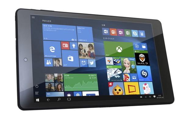 8.9型液晶搭載のWindowsタブレット「WN892」発売