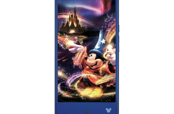 さまざまな機能でディズニーキャラクターが登場する「Disney mobile on docomo DM-01H」