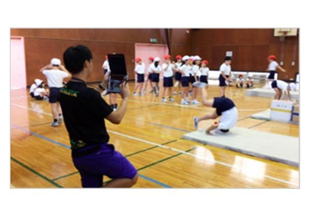 墨田区立小学校でのICT機器活用のようす