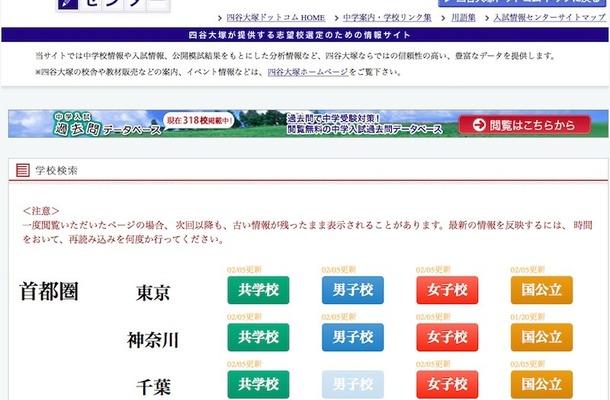 四谷大塚 入試情報センター