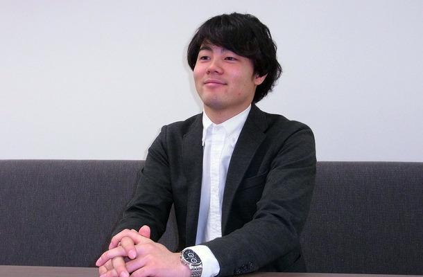 インターンシップに参加した松江総合ビジネスカレッジの古川勇貴さん