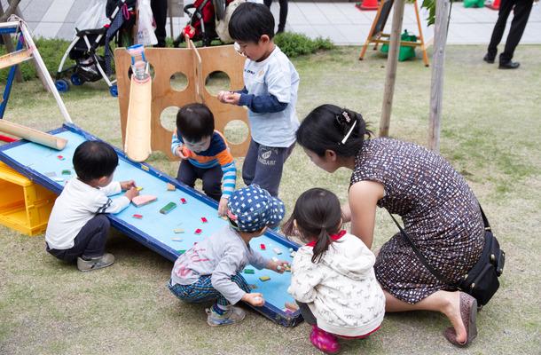 子どもの遊び場も充実