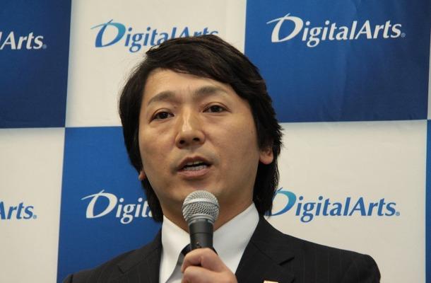 デジタルアーツ 代表取締役社長 道具登志夫氏