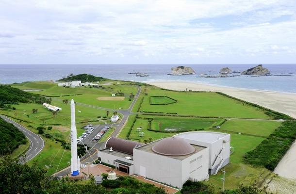 種子島宇宙センター施設(外観)