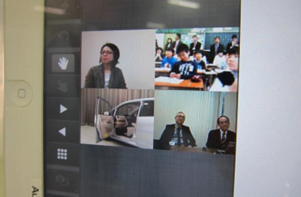 オーテック、小学校の福祉車両に関する授業に参加協力