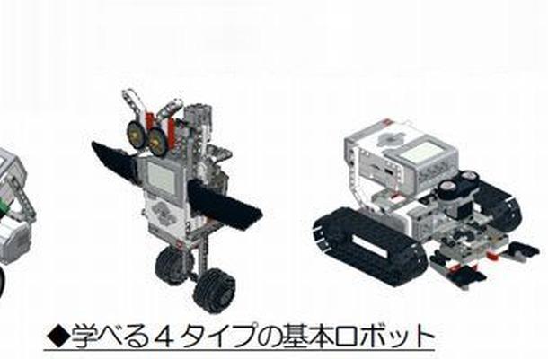 学べる4タイプの基本ロボット
