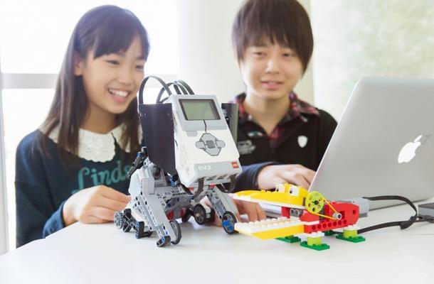 ロボットプログラミングコースの授業風景