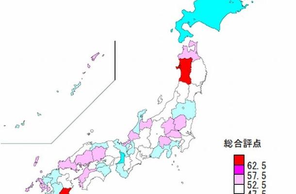 総合ランキング(図)