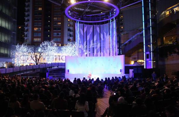 六本木ヒルズ・クリスマスコンサート(昨年の模様)