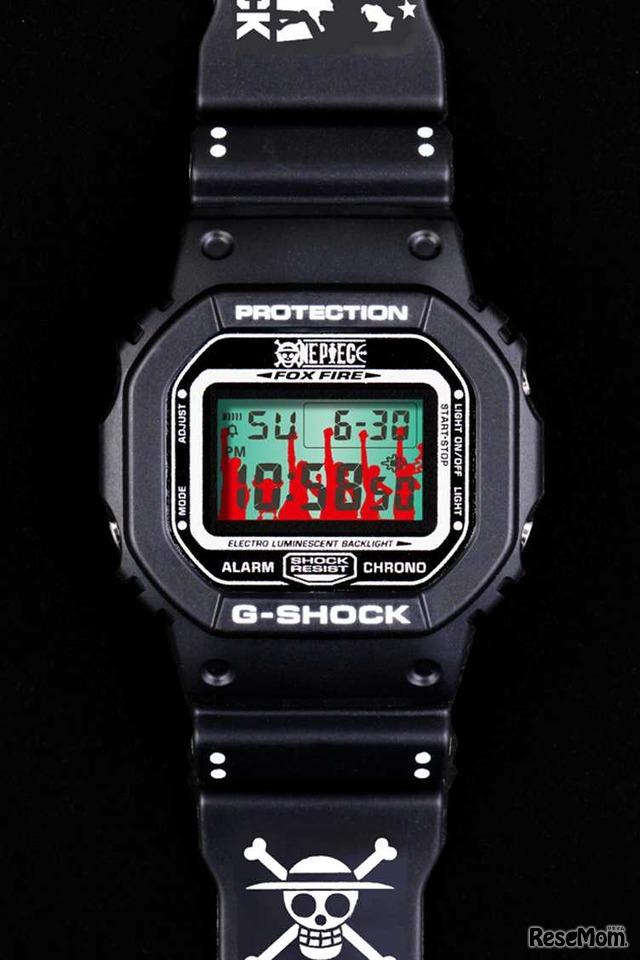 G-SHOCK ONE PIECE MUGIWARA PIRATES − 麦わらの一味 モデル −