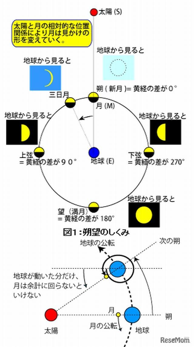 満月 の 周期