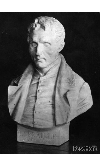 Louis Braille(ルイ・ブライユ) フランス生まれの「点字の祖」 (Photo by General Photographic Agency/Getty Images)