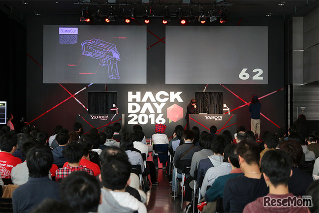Yahoo! JAPAN Hack Day 2016のようす