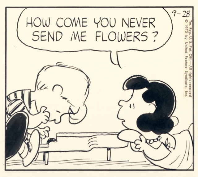 ルーシーとシュローダー壁紙