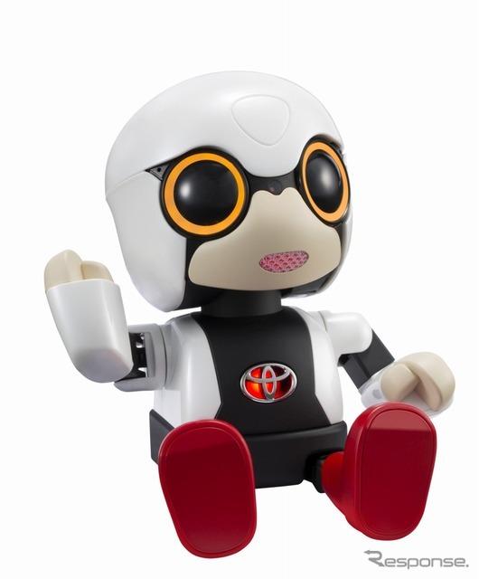 トヨタの小型ロボット「KIROBO m...