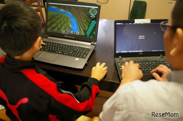 子どものノートPCではすばやくマイクラが起動するのに、親のノートPCではマイクラ起動に時間がかかる