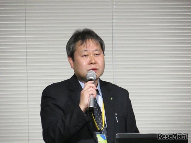 日本学生支援機構の担当者による奨学金制度の講演