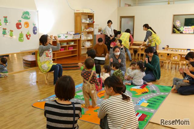 プラスママが伝授、親子みんなで遊べる手遊びタイム