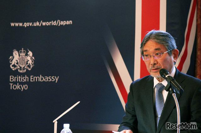 東京外国語大学の立石博高学長