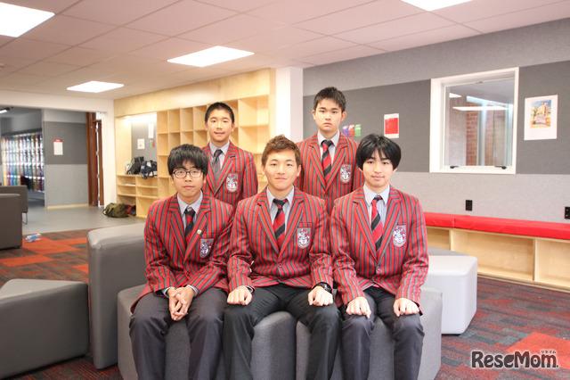 Scots College(スコッツ・カレッジ)に通う日本からの留学生生徒たち。みな「伝統校」で学ぶ意義を大切に感じていた