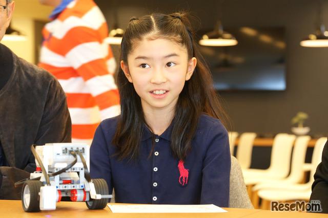 「人の役に立つロボットを作りたい」コモリ マオさん