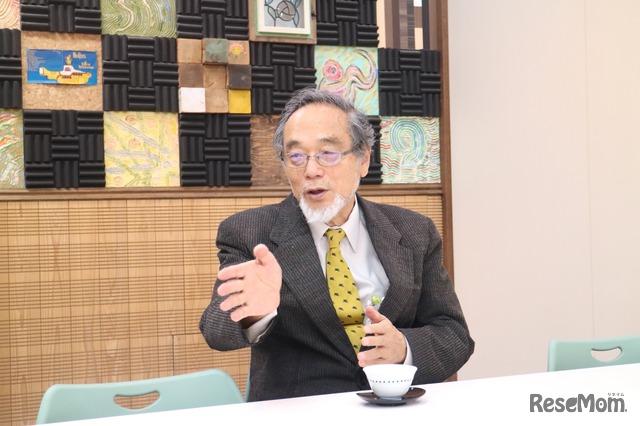 東京大学名誉教授の汐見稔幸氏