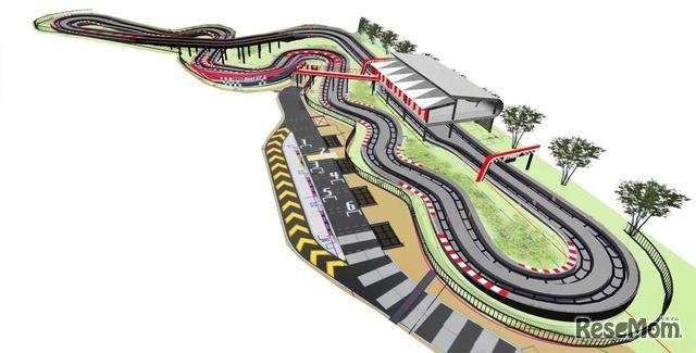 「DUEL GP」のコース図