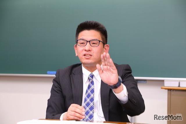 Z会の教室代表 高畠尚弘氏