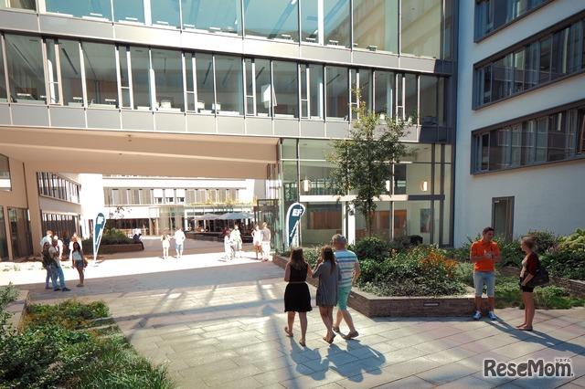 観光地としても人気の高いミュンヘンの中心地に位置するEFミュンヘン校にて、<br>ドイツ大学進学プログラムを受講することができる
